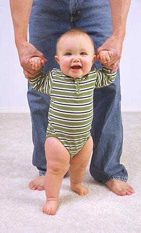 189Что нужно делать когда ребенок сделал первый шаг